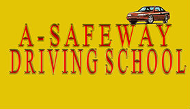 A safe wat Driving School Logo